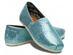 TOMS - Youth Glitter Classic Shoes  #MountainHighOutfitters #Toms