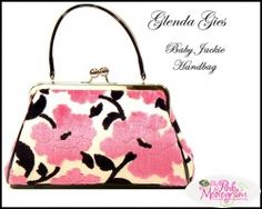 Glenda Gies baby Jackie Handbags.  Available at Kelly Spalding Designs Franklin TN