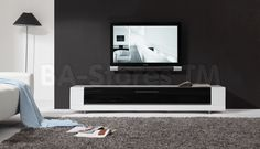 B-Modern Editor Remix TV Stand in White by B-Modern
