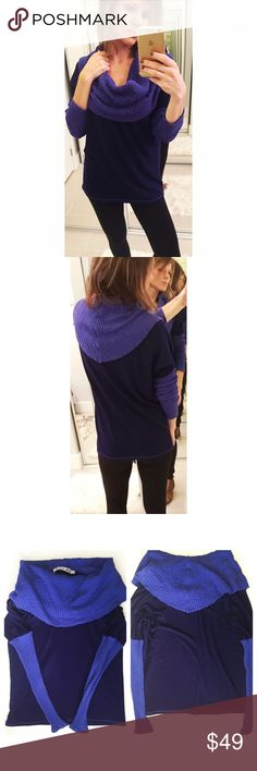 ➡️Michael Stars Purple Cowl Neck Sweater⬅️ Beautiful sweater for your fall and winter closet. 💕Offers welcome. Take 30% off your entire purchase automatically at checkout when you use the bundle feature, or ask me to create a custom  bundle for you. Happy Poshing!💕 Michael Stars Sweaters Cowl & Turtlenecks
