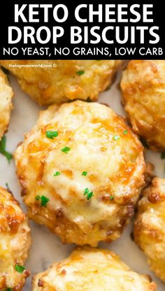 Drop Biscuits, Keto Biscuits, Cheese Biscuits, Cheese Scones, Cheddar Biscuits, Easy Cheese, Keto Cheese, Cheddar Cheese, Ketogenic Recipes