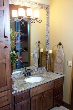Granite or quartz vanity top - Quartz Vanity Tops, Granite Vanity Tops, Granite Countertops, Bath Vanities, Sinks, Austin Stone, Vanity Ideas, Vanity Cabinet, Home Spa
