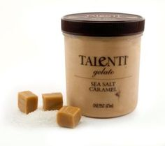 This sea salt caramel gelato is SO delicious. It even has chocolate covered sea salt caramel truffles in it. yummm