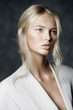 Romee Strijd - Perfect for a Peter Jackson Elven Goddess role with no dialogue? You betcha.