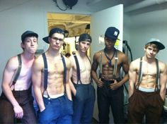 Meanwhile at Newsies...