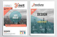 Corporate Brochure Design. Business Infographic