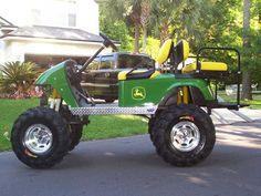 Krazy Karts Inc. specialize in high performance golf carts. Lifted Golf Carts, Golf Cart Wheels, Golf Cart Bodies, Custom Golf Carts, Diy Go Kart, Crazy Golf, Perfect Golf, Mini Trucks, Fun Workouts