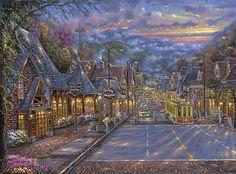 Gatlinburg Memories - by Robert Finale - http://parsonsthomaskinkadegallery.com/blog/gatlinburg-memories-robert-finale/