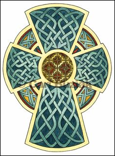 Aon Celtic Art cross of ireland