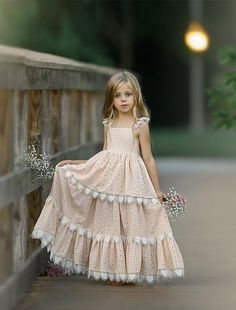 Dollcake is well known for the most Beautiful Affordable Flower Girls Dresses an. Little Girl Dresses, Girls Dresses, Flower Girl Dresses, Flower Girls, Tutu Frocks, Communion Dresses, Trendy Kids, Boho Dress, Designer Dresses