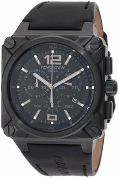 Torgoen Swiss Men's T27106 T27 Series Classic Black Aviation Watch Torgoen. $299.99. Swiss Quartz movement. Hardlex mineral crystal. Three year international warranty. Water-resistant to 330 feet (100 M). Black Ion-Plating stainless case