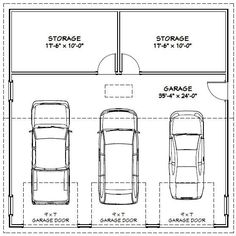 Dimensions of one car garage shop for 1 5 car garage size