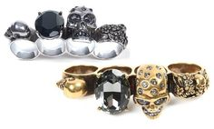 Alexander McQueen Brass Knuckles Pinterest: Recklesx (Again-stylish with attitude adjusters-just in case)