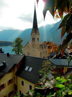 Hallstatt Christuskirche - Salzkammergut Region, Austria