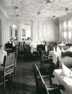 First Class Passengers' Dining Room - #5