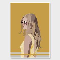 best=Golden Art Print by Anna Mckay NZ Art Prints Art Framing Design Prints Posters NZ Design Gifts SantaFe Bridal Nz Art, Art Prints Online, Yellow Art, Summer Prints, Duck Egg Blue, Gustav Klimt, Artists Like, Unique Art, Online Printing