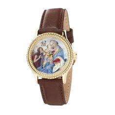 reloj madona con niño