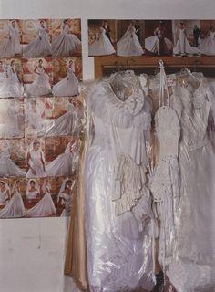 the bride balenciaga le dix by nicolas ghesquiere photography martha camarillo self service 14 ss 2001