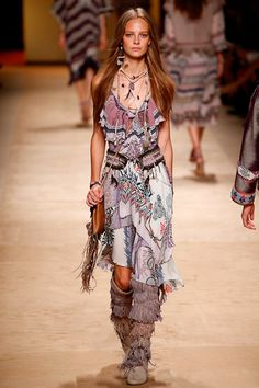 Etro Spring 2015 Ready-to-Wear - Collection - Gallery - Look 1 - Style.com
