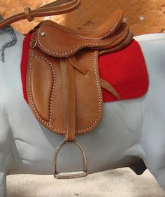 1/6 scale english saddle | Flickr - Photo Sharing!