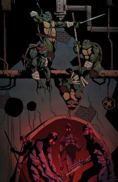 Teenage Mutant Ninja Turtles colours by ~Fatboy73