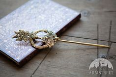 Medieval Handmade Casting  Brass Fibula Clasp