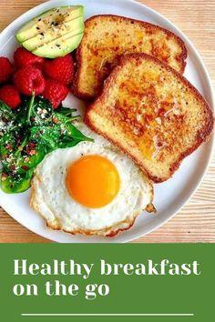 Healthy Breakfast Snacks, Simple Breakfast Recipes, Breakfast Ideas, Healthy Snack Bars, Healthy Food, Healthy Heart, Comidas Fitness, Cooking Recipes, Healthy Recipes