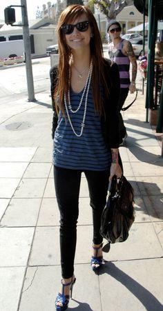 Ashlee Simpson: Big Shades, Big Tattoo, Big Shoes, Big Lips