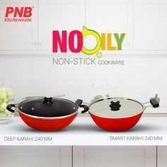 ✨Best Nooily #NonStickCookware Product By PNB Kitchenmate  Features :  1) Strong and soft touch handle 2) Metal spoon friendly 3) High nonstick performance 4) Highly Durable #kitchenset #kitchenlife #kitchen #kitchendesign #kitchenaid #kitchenremodel #kitchener #best #newmodel #new #newproducts #hard #pressurecooker #mykitchen #mykitchenrules #my #models #bestmodels