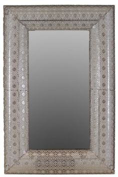 Urban Trends 94129 Decorative Metal Mirror * More home décor info could be found at the image url.