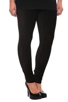 Black Corduroy Leggings