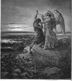 UnCatolico-Biblia-024 - Jacob luchando con el ángel