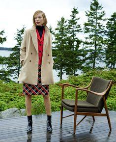 Classic-inspired, but totally modern, Jones New York coat and skirt