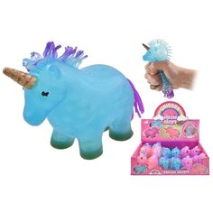 SQUISHY UNICORN TOY GAME GREAT GIFT PRESENT IDEA FOR KIDS UNICORN TOY #Unbranded Maze Puzzles, Slime Kit, Novelty Toys, Funny Toys, Practical Jokes, Cute Plush, Display Boxes, Cool Toys, Unicorn