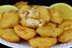 Creveti in crusta de aluat - CAIETUL CU RETETE Ethnic Recipes, Food, Essen, Meals, Yemek, Eten