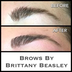 Brow Shaping includes wax, (a low temperature hard wax), brow tint, trim, & tweeze! Brows can be tricky with little holes and gaps. Be careful when you starts tweezing!