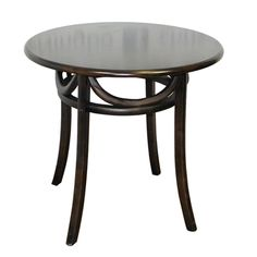This is our smallest restaurant table. This is our round elm #restaurant table in dark brown. This #table is 80cm x 76cm and is great for #bistros, #restaurants and #coffee shops.