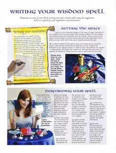 Writing your own wisdom spell