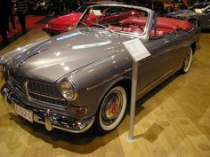 Coune Volvo 122S Amazon Convertible 1963