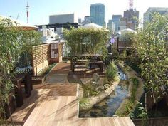 400 Year Old Sake Company In Central Tokyo Creates Roof Garden To Combat Global Warming, Raise Awareness