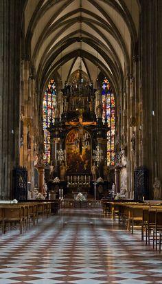 St. Stephens, Vienna.