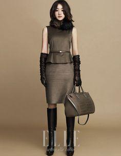Boots in fashion Korean Face, Korean Girl, Korean Style, Super Movie, Fashion Beauty, Womens Fashion, Korean Celebrities, Office Fashion, Asian Woman