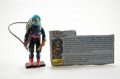 Vintage Original Cobra GI Joe 1989 TARGAT V.1 100% Complete w/ File Card #Hasbro