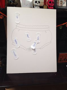Pin the pad on the panty game.  First moon period party.