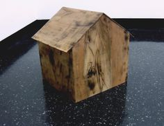 """""""There's No Home For You Here"""".  Walnut wood and sound"""