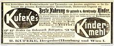 Original-Werbung/ Anzeige 1903- KUFEKE'S KINDERMEHL - ca. 140 X 50 mm