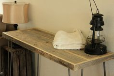 Reclaimed Wood Console Table  Natural Finish by AtlasWoodCo, $335.00