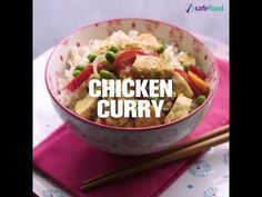 safefood chicken curry video. Healthy chicken curry recipe from safefood. All our recipes are nutritionally analysed by our team of experts. #chicken #chickencurry #healthychicken #curry
