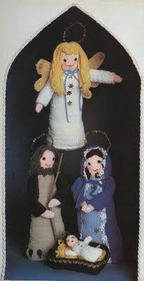 Creche - Handmade By Mother Printable Patterns