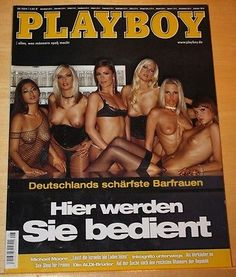 Playboy-August-2004-Zeitschrift-Deutschlands-schaerfste-Barfrauen